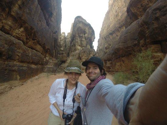 Khaled's Camp : Cañon Wadi Rum