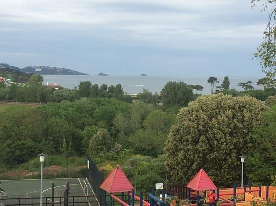Hoburne Devon Bay: view from club house