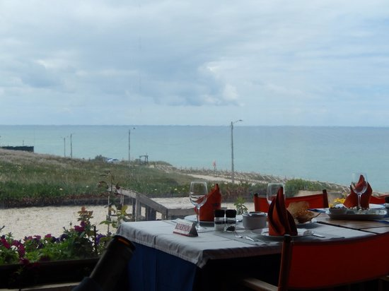 Nortada: View from restaurant