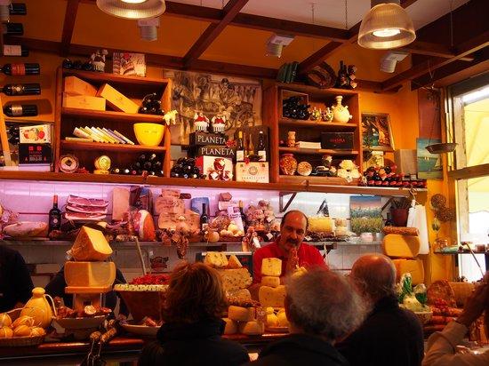 Ortigia : Cheeses, olives and wine perfecto!