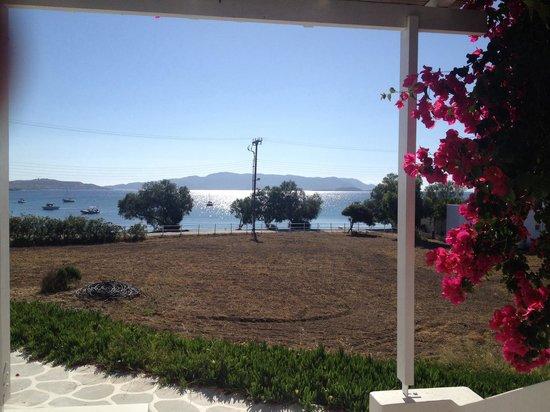 En Milo: View from balcony