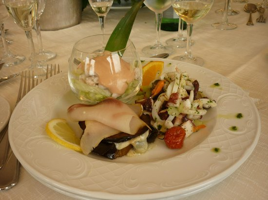 Baia di Ulisse Wellness & SPA: Antipasto