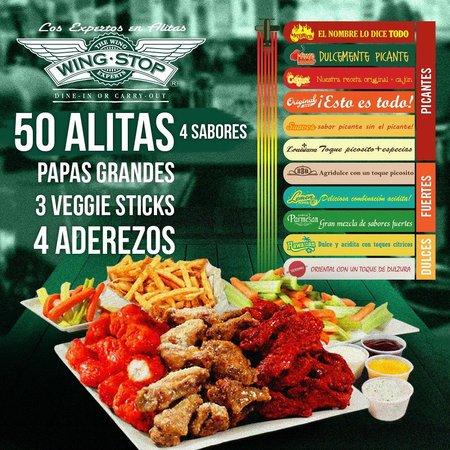 Wingstop Staten Island Menu