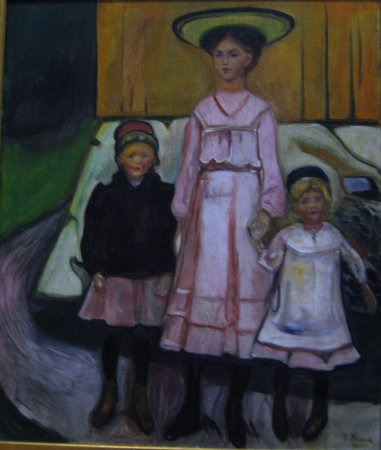 Thielska galleriet: Munch: Three Children