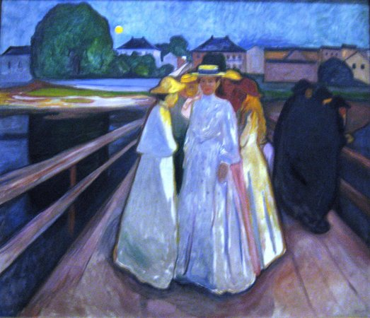 Thielska galleriet: Munch: On the Bridge