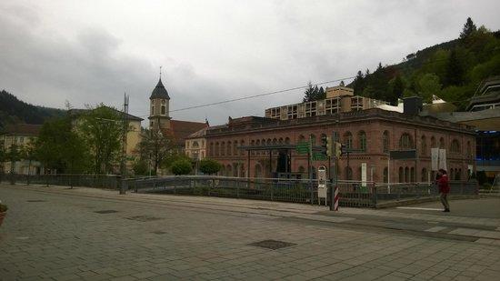 Palais Thermal: снаружи термального комплекса