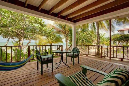 Robert's Grove Beach Resort: Balcony with sea views