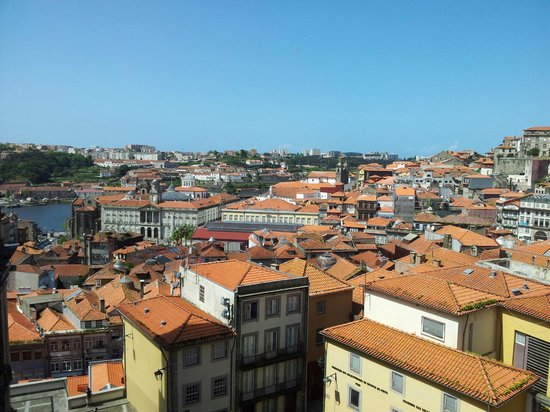 Gallery Hostel: view over town
