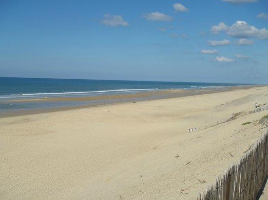 Crêperie TY BILIG : la plage à Carcans-beach