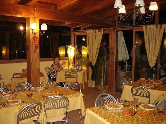 Hotel La Grotta : Dakterras restaurant La Grotta Hotel
