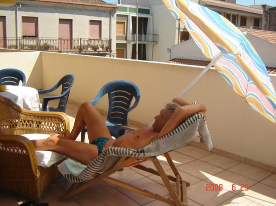 Hotel La Grotta : Balkon van kamer 1