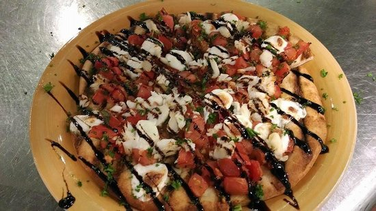 The Masthead at Pier Street : Margherita Pizza!!