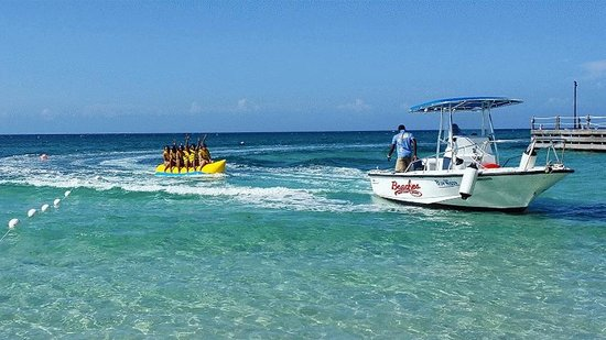 Beaches Ocho Rios Resort & Golf Club : Banana Boat