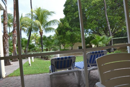 Islander Resort : Terrasse