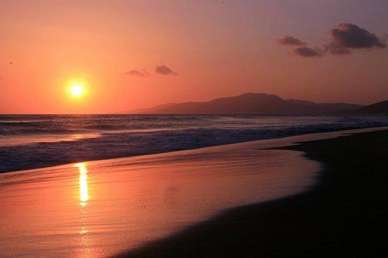 Los Lances Beach: Il tramonto