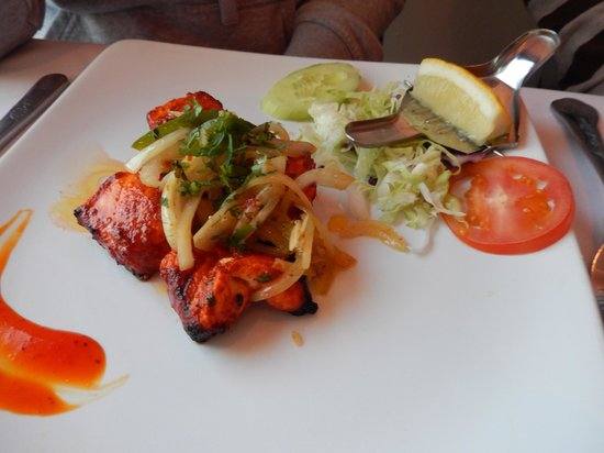 Mumbai Square Restaurant: tikka chicken