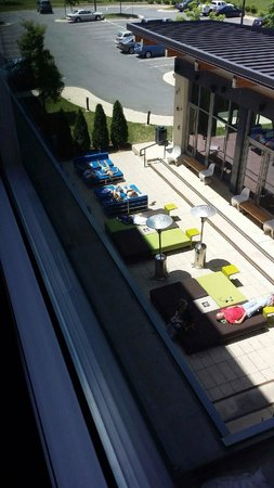 Aloft Dulles Airport North: So relaxing!