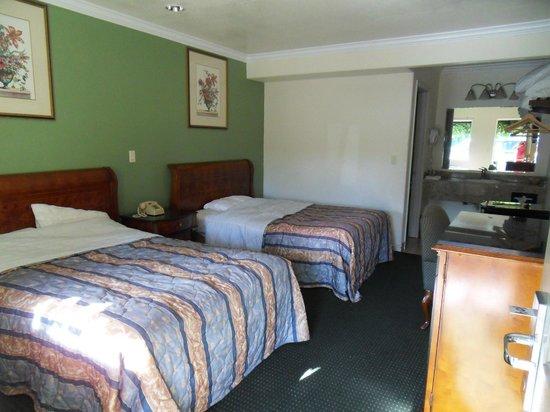 Monterey Oceanside Inn: Zimmer