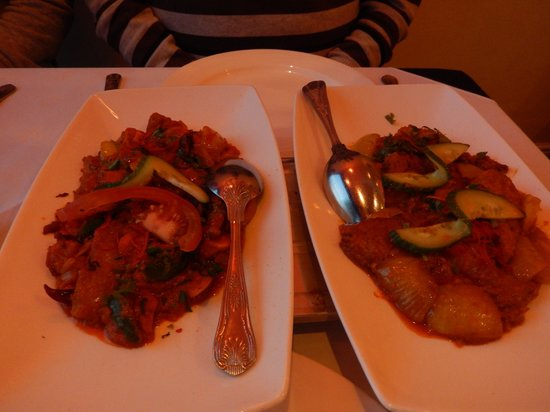 Mumbai Square Restaurant: main course