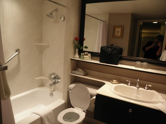 Royal Scot Hotel & Suites : bathroom in 2 bdrm suite