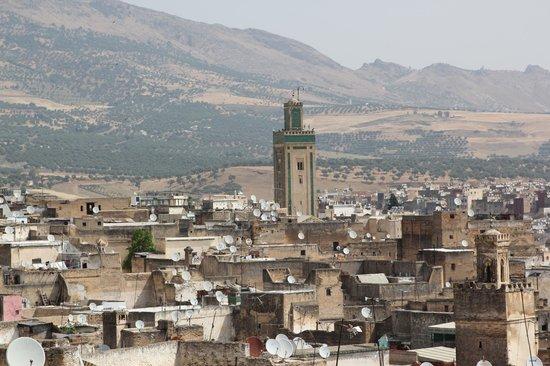 Dar el-Ghalia: Une vue de la terrasse