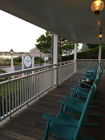 Harbor View Hotel: Outdoor platio