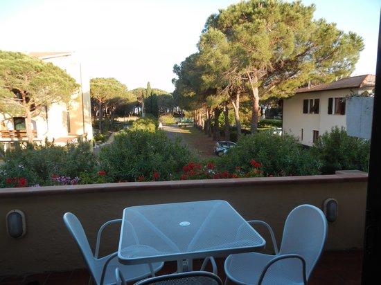 Residence Campo Blu: terrazzo