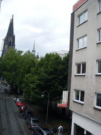 Hotel Engelbertz: Vue sur la cathédrale ...