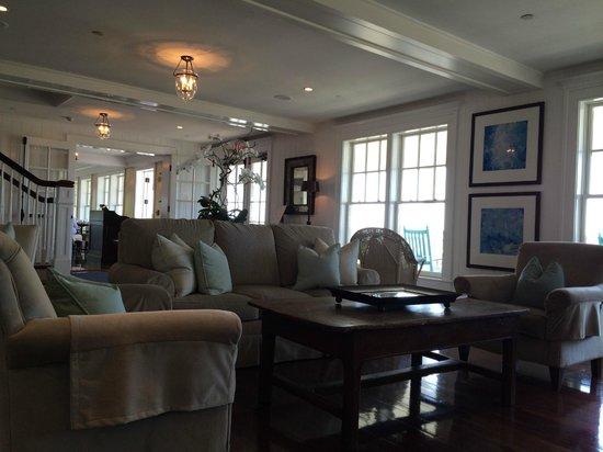 Harbor View Hotel: Hotel lobby