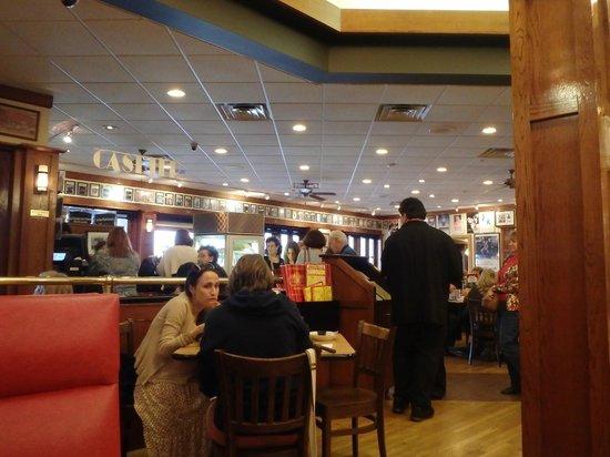 Restaurant interior picture of kenny ziggy s new