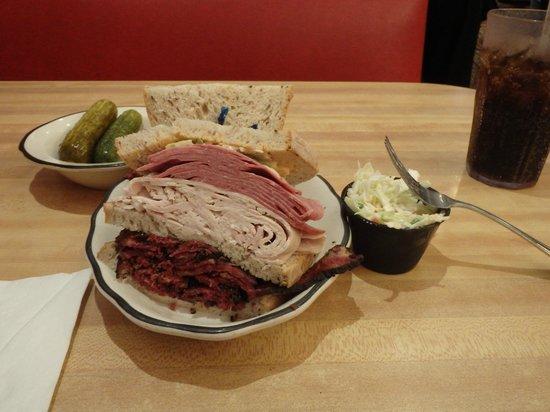 Kenny & Ziggy's New York Deli: Small sandwich!