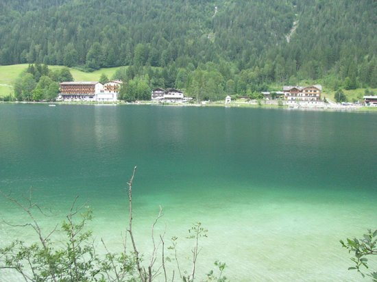 Bavaria, Germany: Some guest houses next to Hintersee
