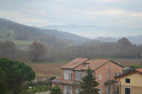 Castiglione della Valle, Italia: Casa Nestore in the distance
