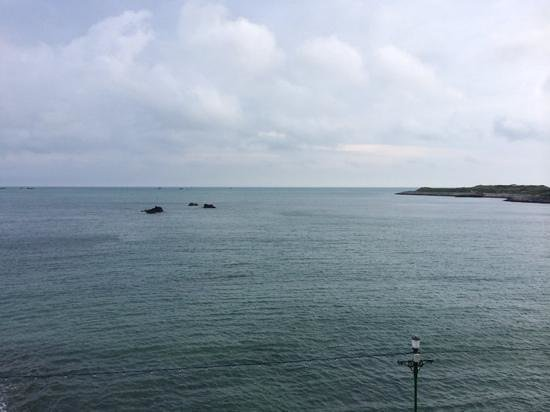 Fort d'Auvergne Hotel: Sea view - the best thing & worth the extra!