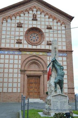 Castiglione della Valle, Italien: The Church