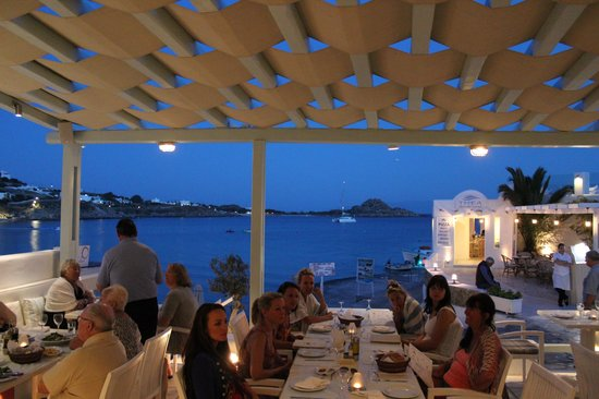 Petinos Hotel: View from restaurant