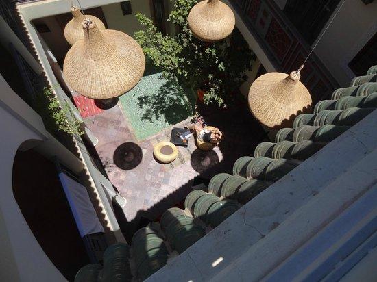 Riad Jardin des Reves: patio riad jardin des rêves