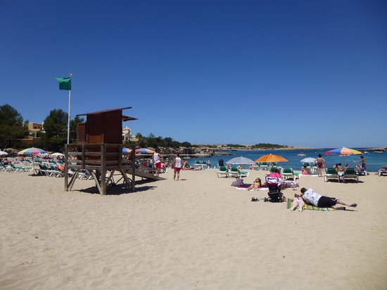 Fiesta Hotel Milord : beach at port de torrent