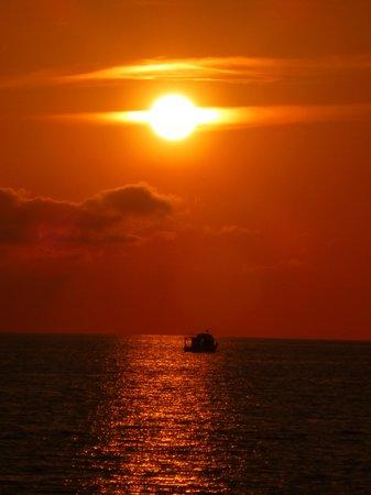Fiesta Hotel Milord : amazing sunsets at night