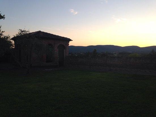 San Lorenzo a Linari : Giardino