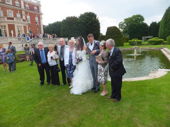Swinfen Hall Hotel: By the pond