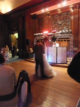 Swinfen Hall Hotel: The ballroom transformed for the evening