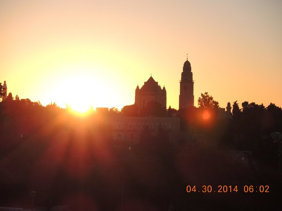 Inbal Jerusalem Hotel: Sunrise