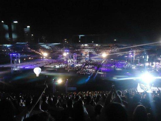 Serra Dourada Stadium : A noite Dentro do estádio