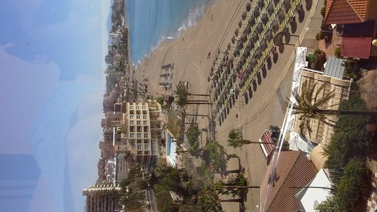Sunset Beach Club: sea/town view room 934