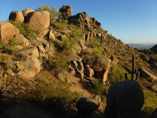 Pinnacle Peak Park: Wonderful view from the trail