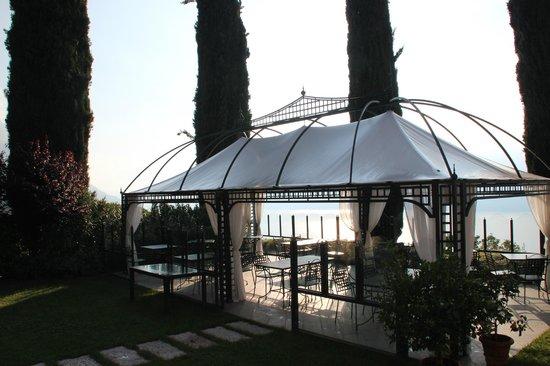 Boutique Hotel Villa Sostaga: Terrasse