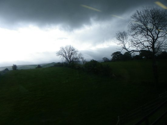 Settle Carlisle Railway: moody view