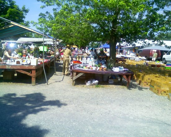 Flea Market at Spence's Bazaar