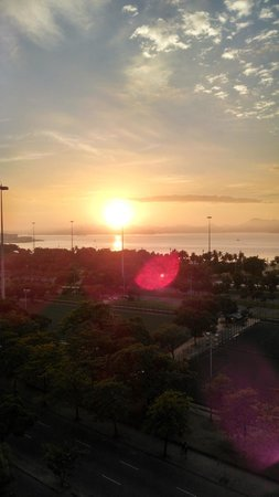 Hotel Flamengo Palace : lindo por do sol